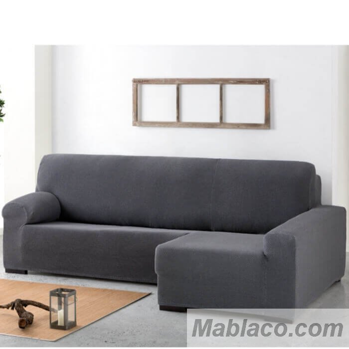 Funda chaise longue cora bielastica apoyabrazos largo - Fundas chaise longue ...