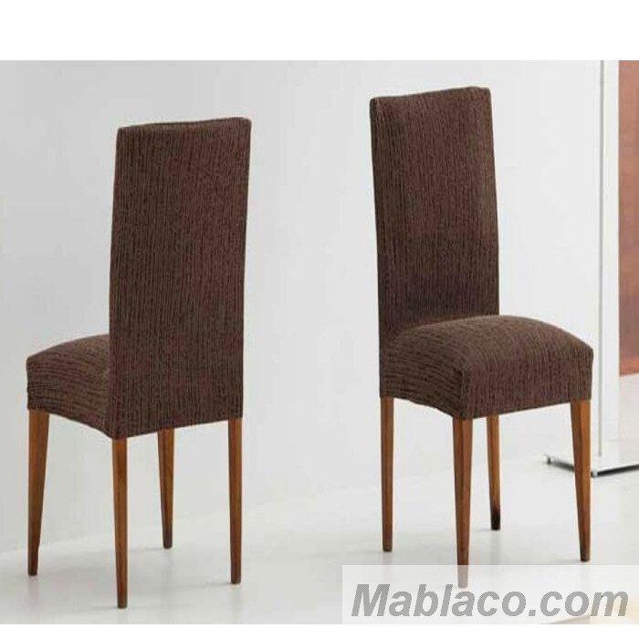 Fundas de sillas con repaldo elasticas tibet - Fundas elasticas para sillas ...