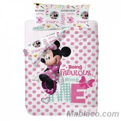 Saco Nórdico Minnie Mouse Fabulous