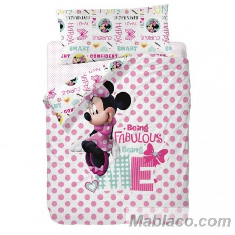 Juego Funda Nórdica Minnie Mouse Fabulous