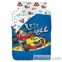 Juego Funda Nórdica Mickey Mouse Let's Roll