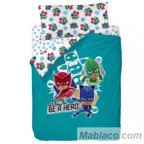Juego Funda Nórdica Time to be a Hero Masks Disney