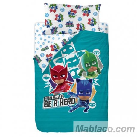 Saco Nórdico Time to be a Hero PJMasks Disney
