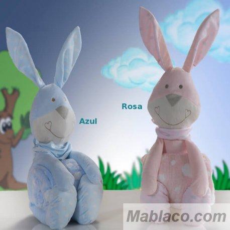 Peluche Manta Bebé Conejo