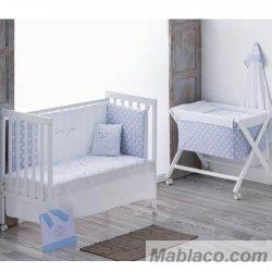 Coordinado Dormitorio Bebé Nuvola Azul