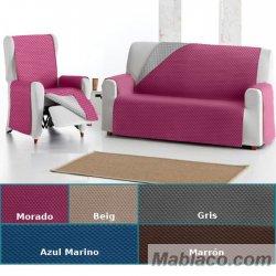 Cubre sofa Práctica Reversible Oslo