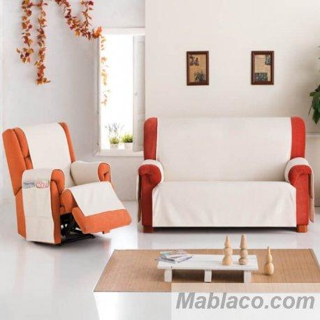 Cubre Sofá Chaise Longue Práctica Bianca