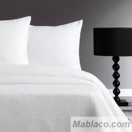 Colcha Bouti Jacquard Tripoli Blanco