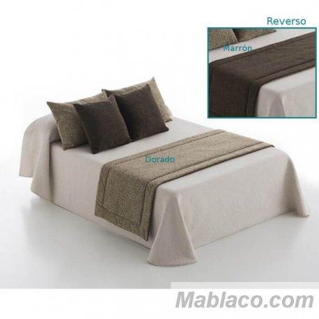 Caminos/Pie de cama Dream Dorado-Marrón