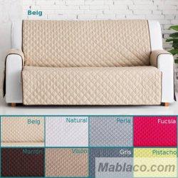 Cubre sofa Práctica Reversible Dual Quilt