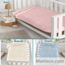 Mantas bebé Gofrada 6042 Piel
