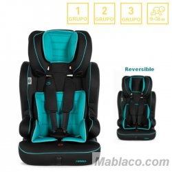 Silla coche Grupo 1, 2 y 3 Travel Reversible MS Azul