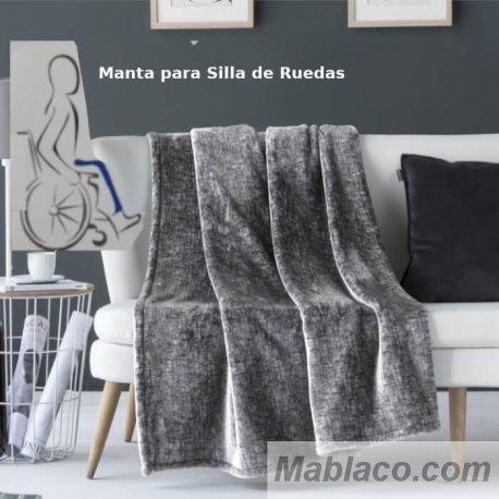 Manta para silla de ruedas Aron 80x130 cm