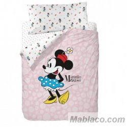 Juego Funda Nórdica Minnie Mouse Blue Skirt