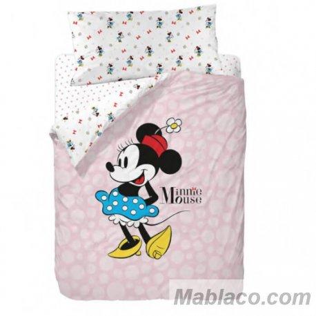 Juego Funda Nórdica Minnie Mouse Blue Skirt