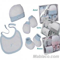 Ropa primera puesta Bebé 4 piezas Corazones