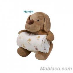 Peluche Manta Bebé Doggy