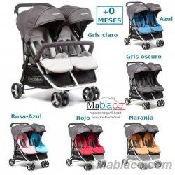 Silla de Paseo Gemelar BebéDue Dual todos los colores