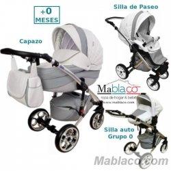 Carrito de bebé Nataly Polipiel Trio y Duo Toral