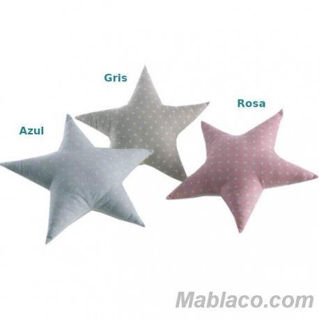 Cojín Infantil Reversible Estrella