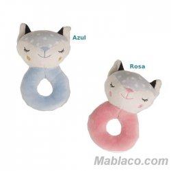 Sonajero Bebé Circular Fox