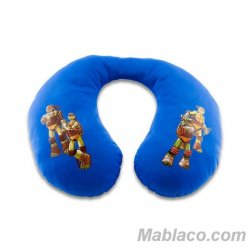 Almohada Cervical Tortugas Ninja Azul