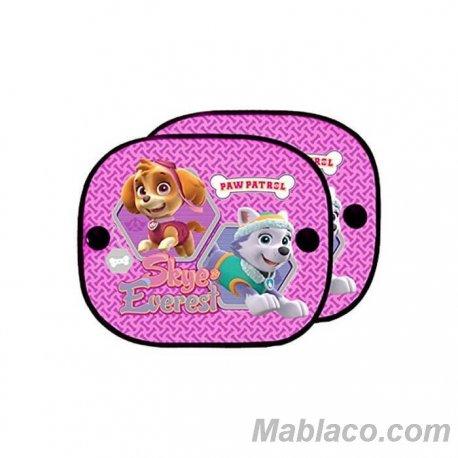 Parasol Coche Bebé Patrulla Canina Niña Pack 2
