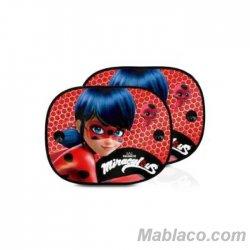 Parasol Coche niños Ladybug Pack 2