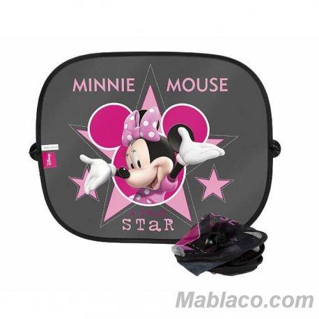 Parasol Coche Bebé Minnie Mouse Pack 2