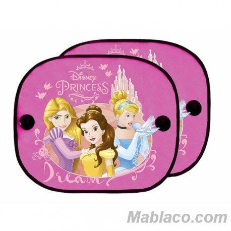 Parasol Coche Niña Princesas Pack 2