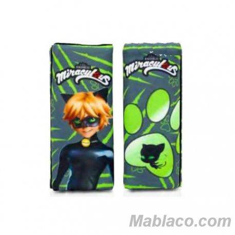 Almohadilla Cinturón Silla Bebé Cat Noir Pack 2