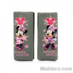 Almohadilla Cinturón Silla Bebé Minnie Mouse Pack 2