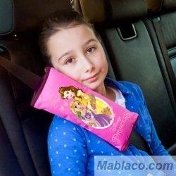 Almohadilla Cojín Cinturón Coche Princesas