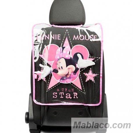 Protector Respaldo Asiento Coche Minnie Mouse