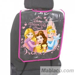 Protector Respaldo Asiento Coche Princesas