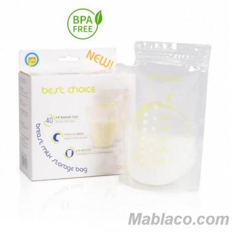 Bolsas para leche Materna Pack 44 Best Choice