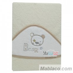 Capa de Baño Bear Beig