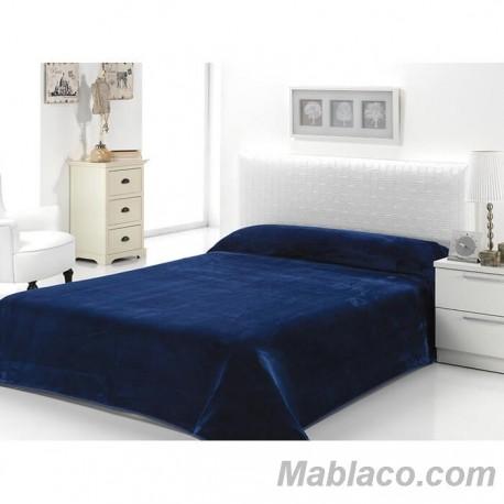 Manta Lisa D/B93 Mora Azul Noche