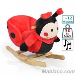 Caballito Balancín Ladybug