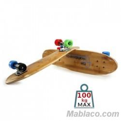 """Skateboard de bambú 27"""" Cruiser"""