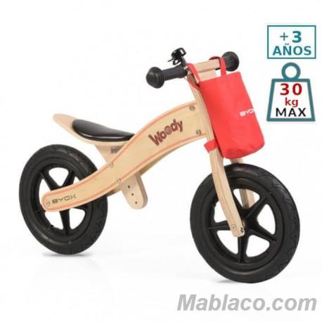 Bicicleta de madera sin pedales Woody Natural