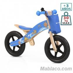 Bicicleta de madera sin pedales Woody Pirata