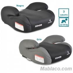 Alzador Coche Isofix Romeo Grupo 3