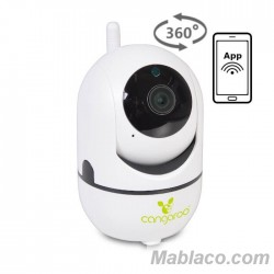 Vigilabebés Cámara Wi-Fi 360º Vision
