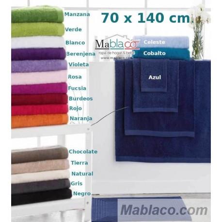 Toallas 70X140 Ducha 600 gr/m2