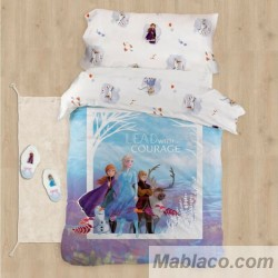 Funda Nórdica Frozen 2 Courage 100% Algodón Digital Reversible
