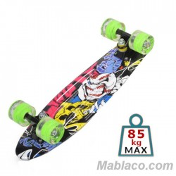 "Skateboard 22"" Graffiti LED"