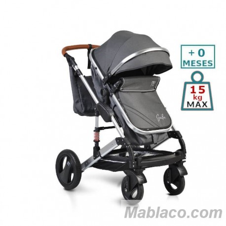 Carro de bebé Gala Negro