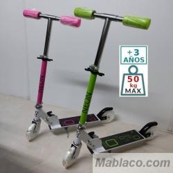 Patinete Infantil Neon ruedas LED