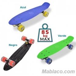 """Monopatín Skateboard 22"""" Spice LED"""